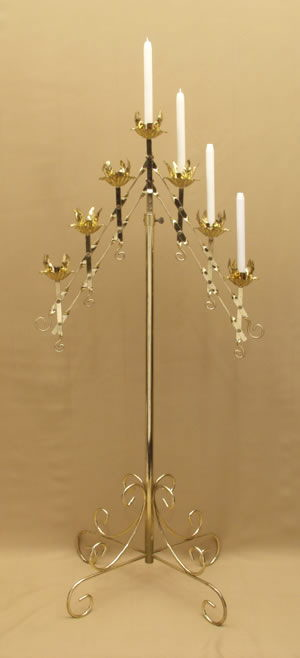 Where to find CANDLEABRA; BRASS 7 CANDLE in Jackson