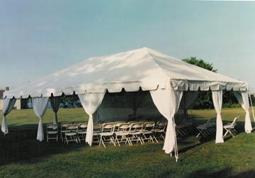 Where to find TENT 30 x 30 WHITE   RS in Jackson