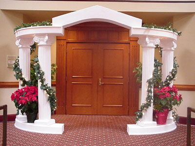 Where to find CLASSICAL ARCH PEDIMENT in Jackson