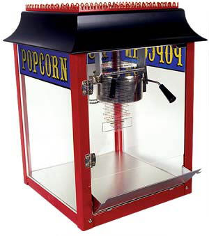 Where to find POPCORN MACHINE 8OZ in Jackson